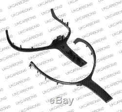 UKCARBON Real Carbon Fibre Steering Wheel Trim Insert For BMW 2 Series F22 F23