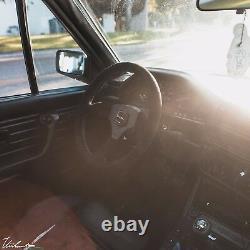 VIILANTE LEGGERA 350mm STEERING WHEEL GENUINE SUEDE TRI-COLOR FITS BMW E46 M3