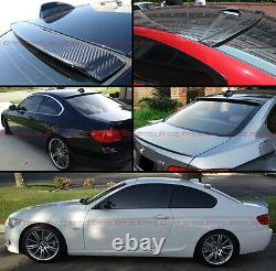 Vip Style Real Carbon Fiber Rear Roof Top Spoiler Wing For Bmw E92 M3 2 Dr Coupe