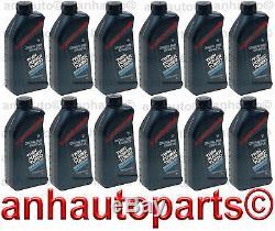 12 Pts D'huile De Moteur Synthétique Bmw 5w Authentique 30 / 5w30 / 5w-30 Livraison Gratuite