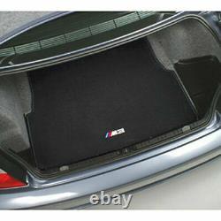 2001-2006 Bmw E46 M3 Tapis Brodé Bagage Mat Véritable 330ci 325ci
