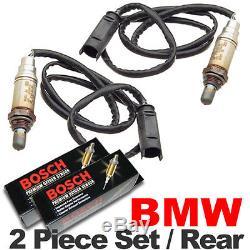 2 Capteurs Bmw Capteur D'oxygène Bmw O2 Arrière / Descendant Véritable Oem Oem Plug E46 / M54 02
