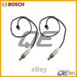 2 O2 Capteur D'oxygène Set Arrière / Aval Véritable Bosch Pour Bmw E46 E39 E83 E53 E85
