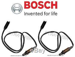 2pc Véritable Bosch O2 Set Oxygène Capteur Arrière / Aval Pour Bmw E46 Land Rover