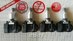 4x Nouveau Véritable Bmw Rdc Tpms Capteur De Pression 36106881890, 36106856209