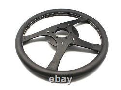Alpina Bmw By Momo Steering Wheel 4 Spokes Black Leather 380mm Witho Hub Genuine