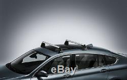 Barres De Toit En Aluminium Bmw Véritable Verrouillables Rack F07 Série 5 Gt 82710443668