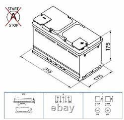 Batterie De Voiture Bosch Authentique 0092s40100 S4010 Type 110 80ah 740cca Top Qualité Nouveau