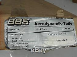 Bbs Bmw E36 Spoiler De Coffre Arrière Avec Coffre D'origine. Sedan Coupe Lip Wing M3 318i 325i
