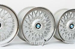 Bmw 16 Bbs #5 Custom Polid 4x100 Genuine Factory Oem Wheels E30 E21 E10 2002