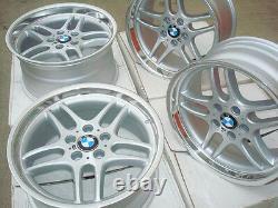 Bmw 18 Genuine E39 M Parallel (74mm Bore) Oem Factory Wheels M5 528i 530i 540i