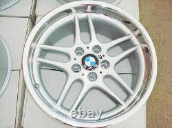 Bmw 18 Véritable M Parallèle Oem Roues D'usine E38 E90 E32 E34 F30 E28 M5 M6 740i