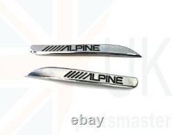 Bmw 1 F20 Nouveau Haut-parleur De Porte Avant Authentique Tweeter Alpine Cover Pair Set