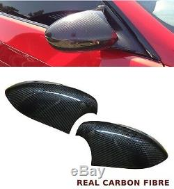 Bmw 3 Series E90 M3 E92 E93 Miroir Couverture Paire Réel En Fibre De Carbone 2008-2012