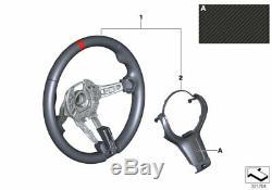 Bmw Direction Véritable M Performance Wheel Cover Alcantara Carbon 32302231982