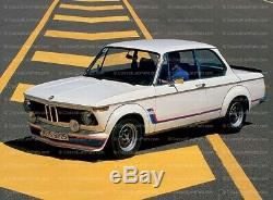 Bmw E10 2002 Tii Turbo Spoiler Tablier Euro Cantonnière Pare-chocs 1502 1602 Véritable