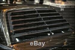 Bmw E30 Louver Vitre Arriere Jalousie Autoplas Weyer Grille À Lamelles 6 Lames Real Plastic