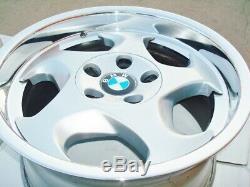 Bmw E34 M5 Véritable 17x9 Et 17x8 Oem # 21 M-system Roues E24 M3 E28 E30 E31 E9 M6