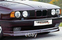 Bmw E34 Série 5 1988-1996 Oem Genuine Rieger Brand Front Spoiler Lip Brand New