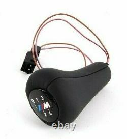 Bmw E36 E34 3 Série 5-illumination Réelle En Cuir Noir Avec M 5-speed