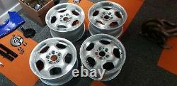 Bmw E36 M3 Alloy Wheels 5x120 17 Véritable Set Décalé Rondell Bbs Schnitzer