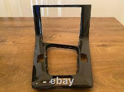 Bmw E36 Véritable Console Centrale De Tableau De Bord En Fibre De Carbone + Boîte À Gants Lhd (rhd Sur Demande)