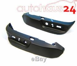 Bmw E38 E39 525i 528i M5 530i Noir Seat Cover Set Commutateur Véritable Oem 1995-2003