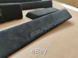 Bmw E39 Alcantara M Perfomance Garniture Intérieure Set Anthracite Véritable