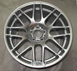 Bmw E46 M3 Csl Véritable Jantes En Alliage 19 Pouces Full Set Front X 2 X 2 Et Arriere