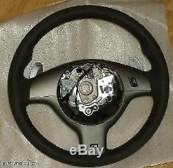 Bmw E46 Oem Véritable M3 Csl 2000-2006 Smg Alcantara Volant Nouveau