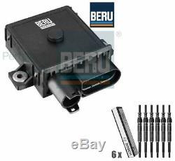 Bmw E60 525,530,535d Module De Commande De Bougie De Préchauffage Et Bougies De Préchauffage Beru Bosch