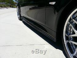 Bmw E60 M5 100% Jupe Réel En Fibre De Carbone Secondaires Diffuseur Extensions À Lèvres