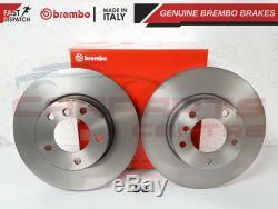 Bmw E90 E91 E92 320 320d 325 Avant 300mm Plaquettes De Disque De Frein Brembo Capteur