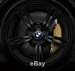 Bmw F10 M5 Oem Style Véritable 343 20 M5 M Roues Forgées À Double Rayon Noir Mat