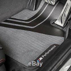 Bmw F21 F22 F20 F23 Nouveau Véritable Tapis De Sol Caoutchouc Avant Performance Rhd M Performance2407300