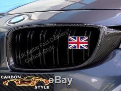 Bmw F30 F31 F34 F35 Carbone Véritable Remplacement De Fibre Grill Double Slat M3 Style
