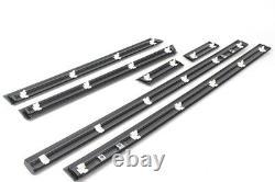 Bmw Genuine M3 E36 3 Serie Sedan M Door Molding Trim Strips Set New 82119403144