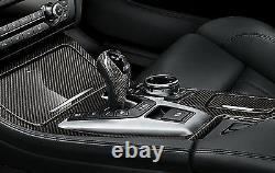 Bmw Genuine M Performance Carbon Gear Sélecteur Stick Knob Trim Dct 61312343709