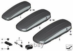 Bmw Genuine Roof Box 320 Litres Noir Abs Plastique Jusqu'à 50kg 82732420634