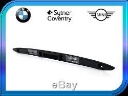 Bmw Genuine X5 E53 2001-2005 Coffre De Hayon Coffre À Bagages Noir 51137170676