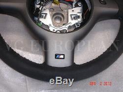 Bmw M3 E46 En Cuir Véritable D'alcantara, Suede M Volant Concurrence Paquet