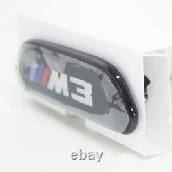 Bmw M3 F80 Siège Avant Backrest M Trim 52109503038 Nouveau Véritable