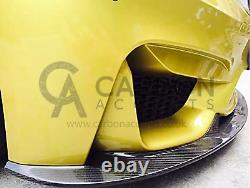 Bmw M3 M4 F80 F82 F83 Fibre De Carbone Réelle 3d Evolved Front Splitter Lip 14-19