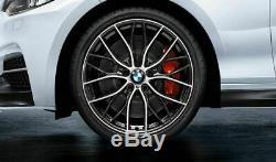 Bmw M Performance Véritable 4x 20 Roues En Alliage Et Pneus 405 M Style 36112459627