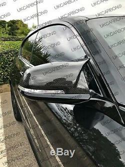 Bmw M Véritable De Fibre De Carbone Miroir Couvre Pour 3 Série Inc M335 M340 F30 F34 ICV