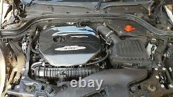 Bmw Mini Cooper S Jcw F54 F55 F56 F57 Real Carbon Fibre Fibre Couverture Moteur