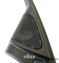 Bmw New Genuine 3 E90 E91 Haut-parleur Porte Paire Tweeter Couverture Gauche Droite Ensemble