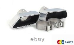 Bmw New Genuine 5 F10 M Sport Rear Diffuser Double Wide Exhaust With Tailpipes