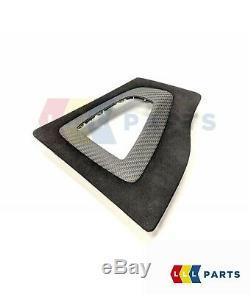Bmw Nouveau Véritable 3 4 F30 F33 M Performance Gearshift Alcantara Carbon Couverture Rhd