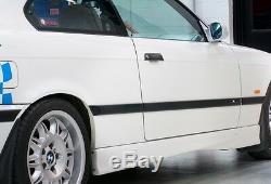 Bmw Nouveau Véritable 3 E36 Coupé Cabrio M Porte Latérale Droite Moulage Trims Set Gauche +